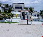 The lifeguard's place