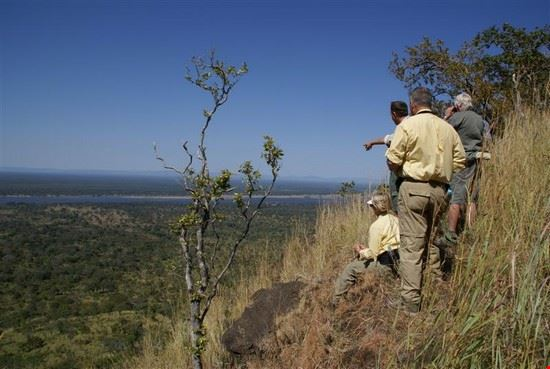 Walking in the Hills - View of the Zambezi