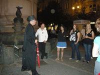 Orbs in Jewish Quarter
