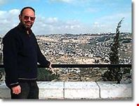 Nat, and a breathtaking view of Jerusalem