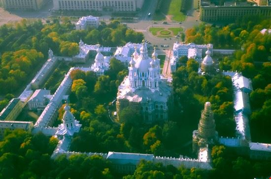 st petersburg smolny cathedral