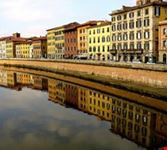 The Arno River by Pisa