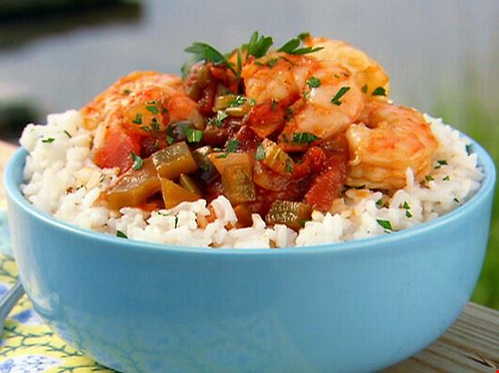 A Plate of Shrimp Creole
