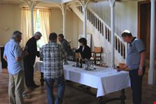 Tasting at a chateau