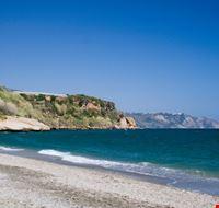 nerja deserted beach