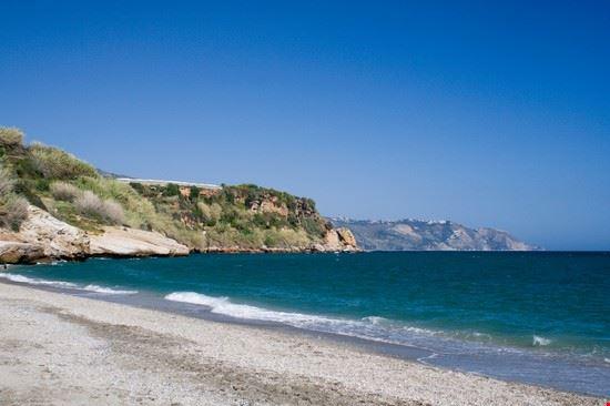 20741 nerja deserted beach
