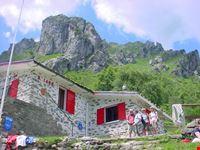 Rifugio Menaggio above Lake Como