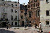 walking in Krakow