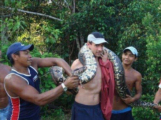 manaus anaconda