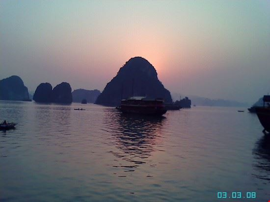 Sunset on Bay