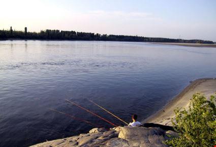 Pesca sul Po