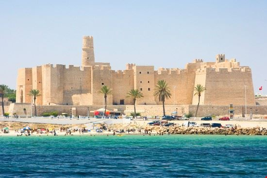 monastir looking the ribat s shore