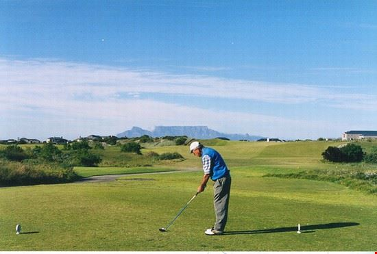 Golf at Cape Town