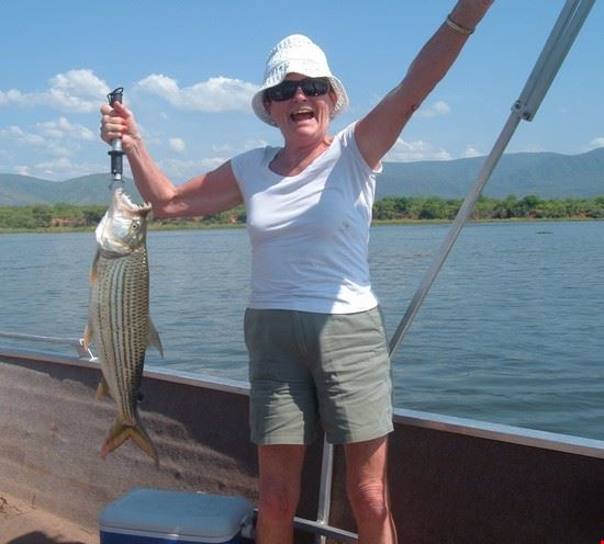 21940 lusaka the author caught a 9 pound tiger fish