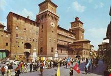 Sbandieratori, Castello Estense