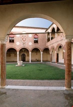 Veduta interna Casa Romei
