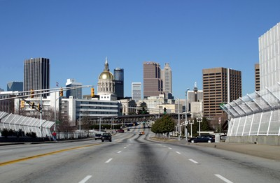 Photo Peachtree Street In Atlanta Pictures And Images Of