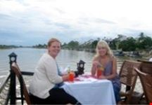 hoi an sunset dinner cruises by cinnamon cruises