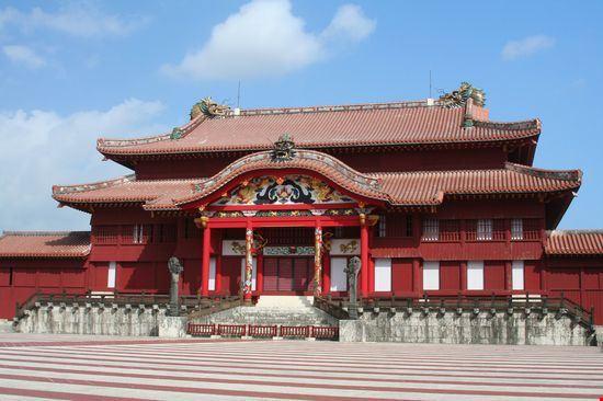 22956 the shuri castle okinawa