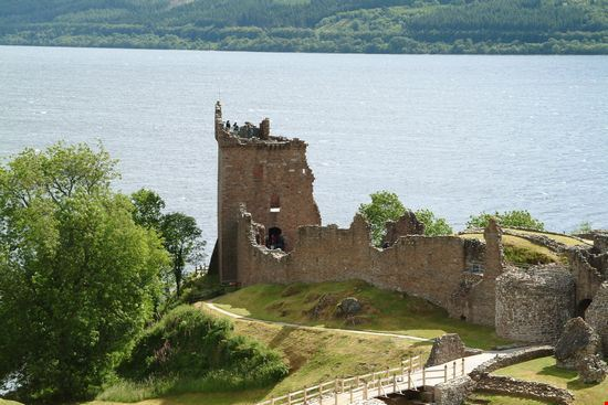 The Urquhart Castle