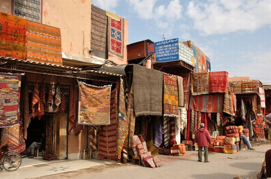 a street in marrakech review Glacier l'etoile in marrakech:  the pedestrian street that leads from jemaa el fna in the direction of the bab agnaou gate  1 review of glacier l'etoile.
