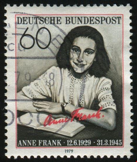 23536 amsterdam briefmarke zu ehren von anne frank