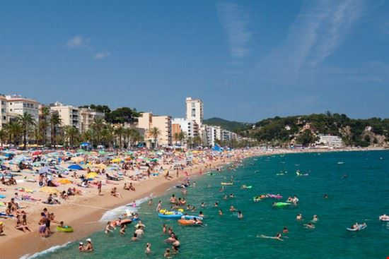 lloret de mar playas en costa brava