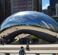 23614 chicago millennium park bean