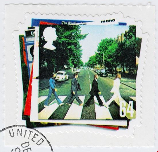 23738 london abbey road briefmarke als hommage an das beatles album