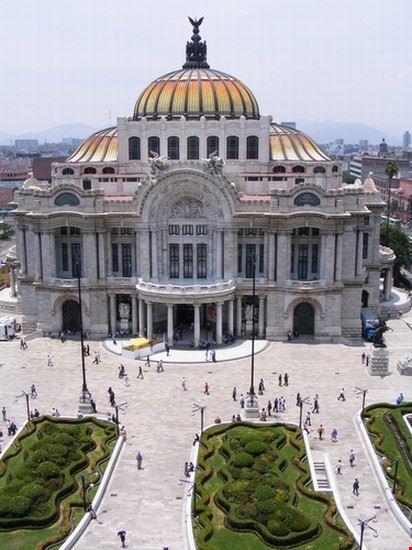 ciudad de mexico palacio de las bellas artes