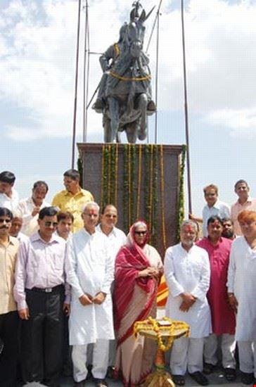 udaipur maharana pratap national monument  haldighati