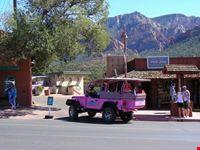 I tour in jeep a Sedona