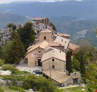 Panorama del Santuario della Mentorella