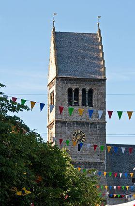 Torre della storica chiesa