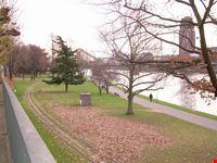 le rive del fiume francoforte