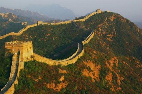 24682 die chinesische mauer bei jinshanling peking