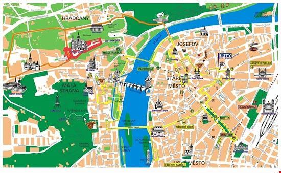 Prag Karte Sehenswurdigkeiten.City Bike Prague Tour Guides Bilder Und Fotos Aus Prag