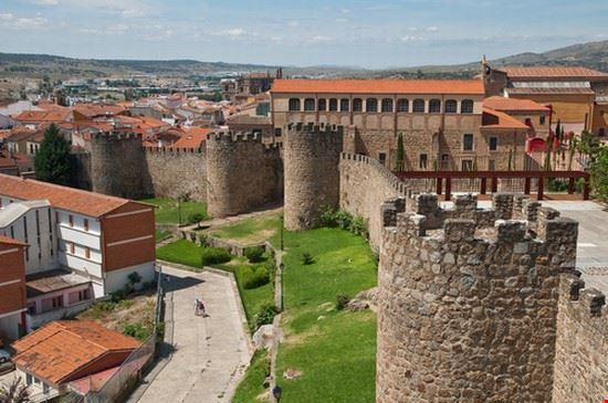 El muro medieval de Plasencia