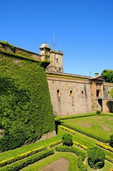 24819 barcelona castillo de montjuic