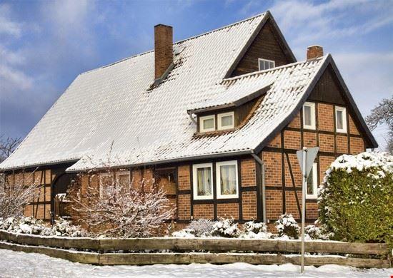 winter und fachwerk in lueneburg lueneburg