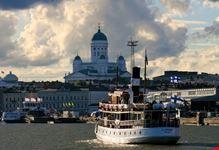 helsinki catedral de helsinki desde el rio