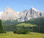 Il Sasso Lungo dall' Alpe di Siusi
