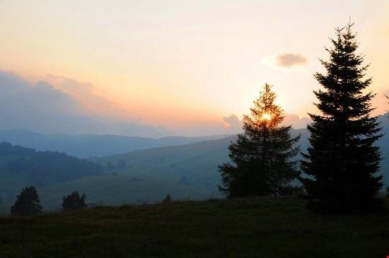 Tramonto all' Alpe di Siusi