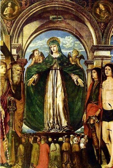 Affresco della Madonna della Misericordia