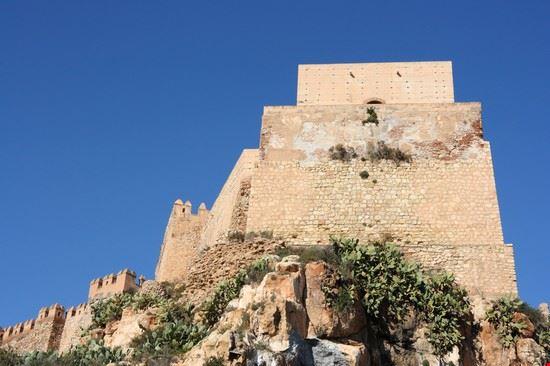 almeria alcazaba von almeria