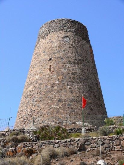 almeria wachturm von cabo de gata