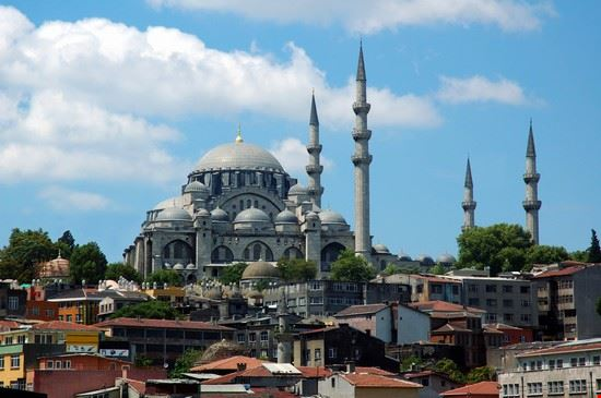 istanbul die sueleymaniye-moschee