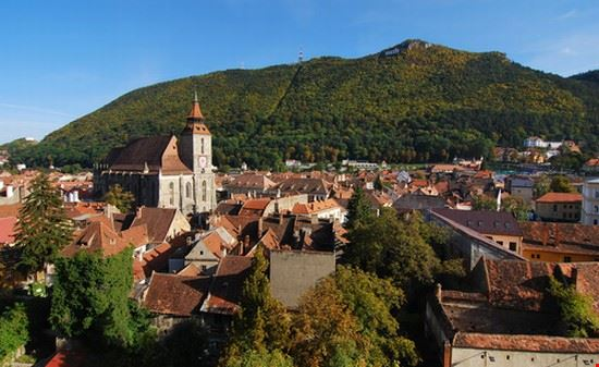 medieval city of brasov brasov