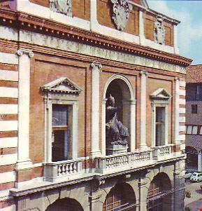 """Palazzo del Ridotto, Papa Braschi """"Pio VI"""""""