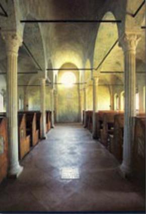 Foto Interno Della Biblioteca Malatestiana A Cesena
